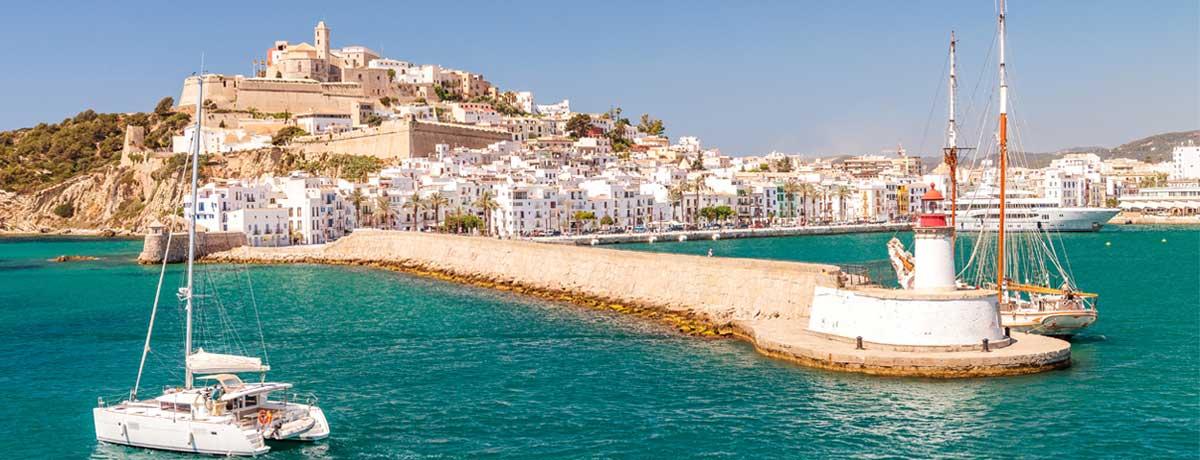 Ibiza-stad is een stad op Ibiza dat tevens de hoofdstad van het eiland is