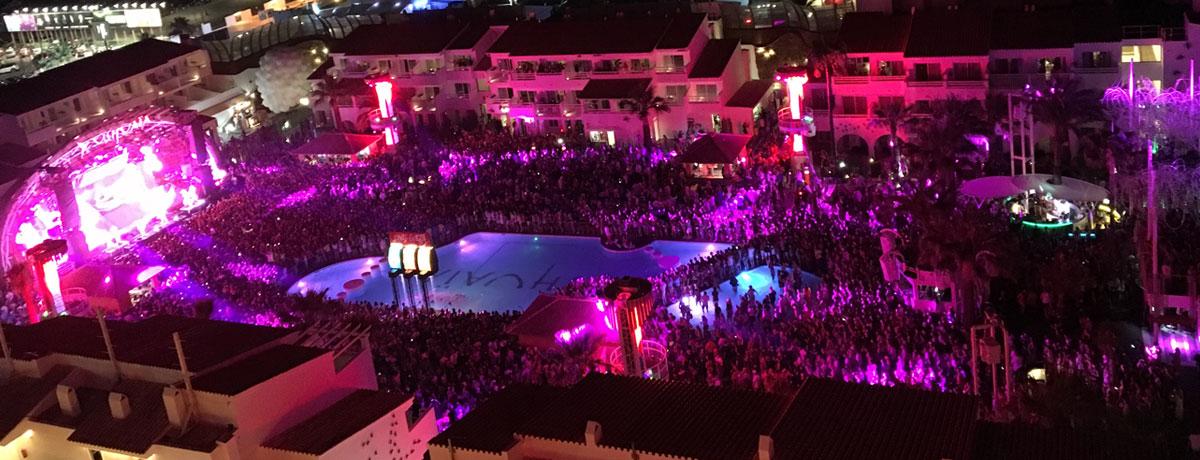 Ushuaia in Playa d'en Bossa is de bekendste en beste club van Ibiza