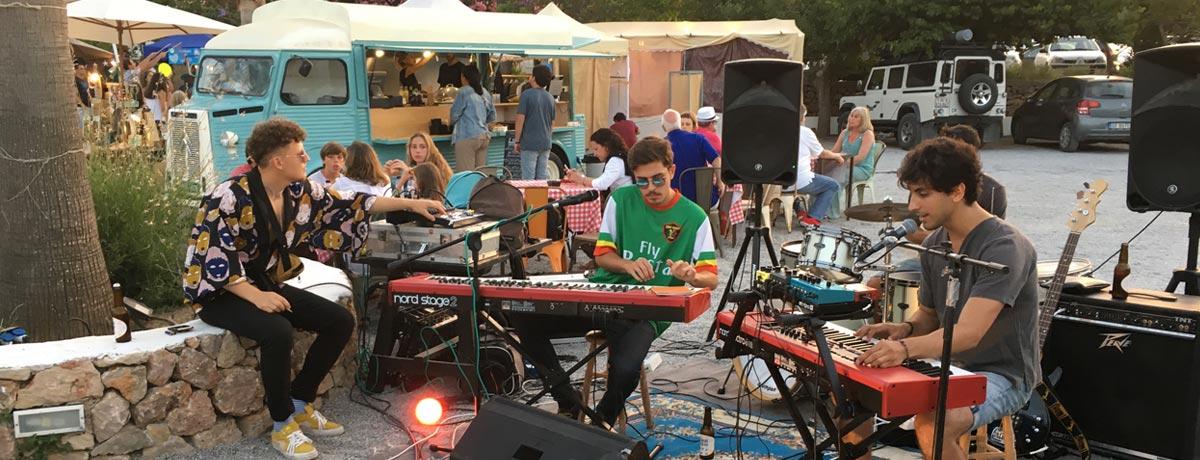 Hippiemarkt Ibiza in Es Canar of in Las Dalias